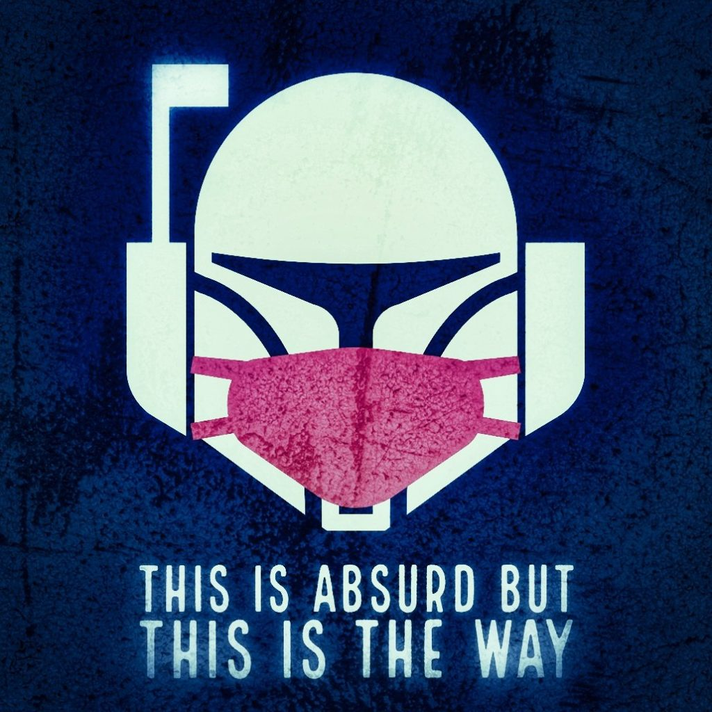 Masked Mandalorian: This Is Absurd But This Is The Way